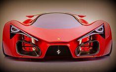 1,200 Horsepower 2015 Ferrari F80 Prancing Pony Concept