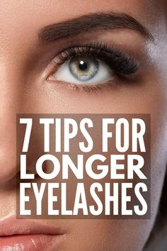 How to Get Longer Eyelashes | Looking for the best mascara for short lashes? Want some DIY overnight ideas to teach you how to grow longer eyelashes FAST? From teaching you how to apply mascara properly to the best drugstore (and higher end) products to make short lashes look longer, we've got all the deets you need for sexy long lashes that last! #eyelashes #mascara #makeup #makeuptips #makeuphowto