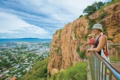 Castle Hill, Townsville #view #townsvilleshines #lookout