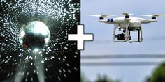 Image result for mirror ball drones
