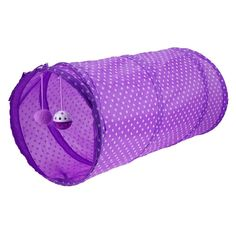 WinnerEco Pet Cat Tunnel Tubes Funny Toy Foldable Solid Dot Tent Training Pet Play House Cat Tunnel(Purple >>> Thank you for having seen our image. (This is an affiliate link) Toy Puppies, Small Puppies, Best Interactive Cat Toys, Play Tunnel, Cat Feeder, Purple Cat, Catnip Toys, Funny Toys, Cool Cats