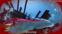 Attacked when exploring the new wreckage! There is a new new update for #Subnautica that adds large hulks of underground wreckage to explore. See a tour here: https://www.youtube.com/watch?v=bshMTsnp4YE