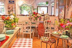 Indigo Seas - The Ivy Restaurants in Los Angeles & Santa Monica - Lynn Von Kersting design