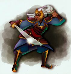 Malanast Warrior   Prismatic Art Collection