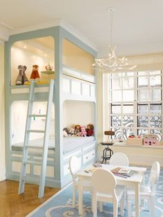 Would Your Rather: Bunks or Double Twin Beds « The Interior Stylist