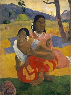 Paul Gauguin, Nafea Faa Ipoipo (When Will You Marry?), 1892, sold for a record US$300 million in 2015.