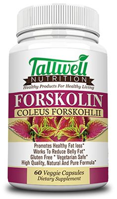 Forskolin Root Extract | $14.99 | Promotes Healthy Weight Loss | Helps Increases Fat Metabolism | 250mg | Clinically Proven to Produce Positive Changes in Body Composition, Gluten Free, Gmo Free and No Fillers or Binders. Helps Stimulate Our Bodies Natural Hormones to Burn Fat | 60 Count - Veggie Capsules From Tallwell Nutrition(tm) Free Shipping; Buy Now at: www.tallwellnutrition.com