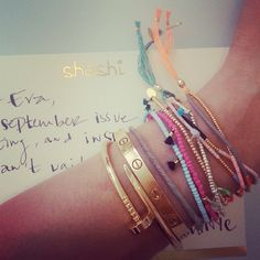 Eva Chen's Shashi Arm, Instagram photo by @eva chen (Eva Chen) | Statigram