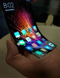 Xiaomi's Flexible Display Surfaces, Runs MIUI 8 OS #android #google #smartphones