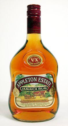 Appleton Estate Jamaican Rum V/X Liquor Bottles, Hot Sauce Bottles, Appleton Rum, Crown Royal Drinks, Appleton Estate, Peach Drinks, St Patricks Day Drinks, Cocktail Mix, Jamaican Recipes