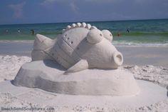 sand sculpture...artist Rick 'The Sandman' Mungeam