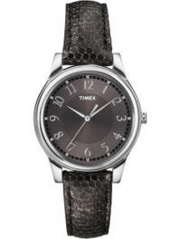 Men's Wrist Watches - Timex Classic Womens Round Analog Watch Black Leather Band T2P086 >>> Find out more about the great product at the image link. (This is an Amazon affiliate link)