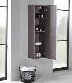 Tavistock Array 300mm Wall Hung Bathroom Furniture Storage (Dark)
