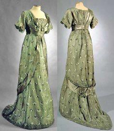 1912 silk dress.