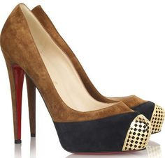 Loubutin- my ultimate dream shoes. One day I will have at least a pair of this.