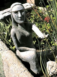 the owl house at nieu bethesda Owl House, Outsider Art, South Africa, Buddha, Mermaid, Statue, Sculptures, Sculpture