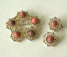 Vintage Sarah Coventry Valencia Brooch by MargsMostlyVintage, $26.00