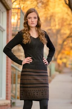 "Skyfall Sweater Skirt | 20"" Fairisle Skirt 
