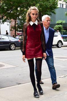 В платье от Georges Chakra, Нью-Йорк, август 2016