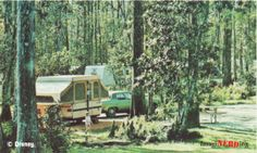 I love these old pictures of Fort Wilderness!
