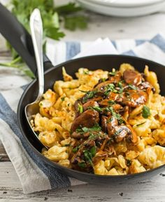 You don't need to travel to Munich to eat this traditional German dish called Jägerspätzle. This Bavarian classic is often served at the Oktoberfest and makes for a seriously exciting family dinner - at any time of the year. Ingredients: For the Spätzle: 2 1/2 cups flour 1/2 teaspoon salt 1/3 cup water 1/3 cup…