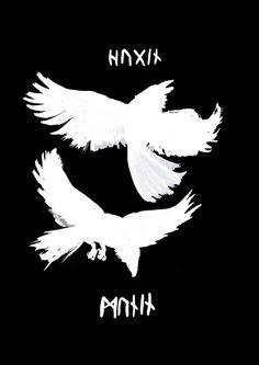 Odin's Ravens by Jauda