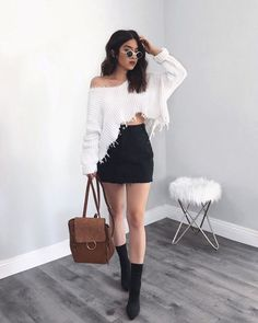 20 Trendy Fall Outfit for College Outfits for college 20 Trendy Fall Outfit for College Teenage Outfits, Winter Fashion Outfits, College Outfits, Outfits For Teens, Girl Outfits, Fashion Boots, College Casual, Fashion Sandals, Elegant Summer Outfits