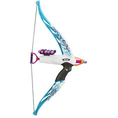 "NERF Rebelle Heartbreaker Bow and Arrow (Blue) - Hasbro - Toys ""R"" Us"