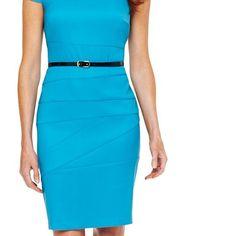 JCPennt dresses? | Alyx® Cap-Sleeve Seamed Dress - jcpenney