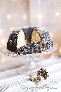 Coconut Christmas Cake Recipe