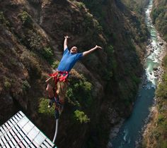 Bungeejump at Bhote Koshi River, near Kathmandu - 50 Incredible Travel Experiences To Have Once In Your Life