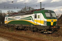 Trains and locomotive database and news portal about modern electric locomotives, made in Europe. Train Posters, Electric Train, Train Engines, Electric Locomotive, Bahn, Locs, Taurus, Trains, Diesel