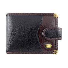 carteira masculina couro legítimo com ponteiras tonin 0649