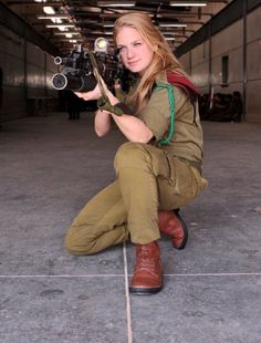 Female Soldiers of The Israel Defense Forces (IDF) | Global ...