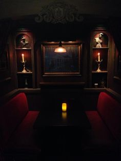 The Haunted Mansion booth at Le Salon Nouveau Club 33.