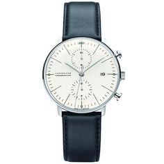 JUNGHANS MAXBILL ユンハンス マックスビル クロノグラフ (クロノスコープ) 腕時計 JH-027.4600.00