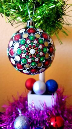 Check out this item in my Etsy shop https://www.etsy.com/listing/555992730/mandala-christmas-ball