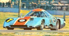 Sport Prototipo:Como era el TC de los '60 Y '70-Fotos e info