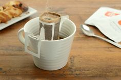 Portable Drip Coffee Bags - The Noble Arbre Portable Filters Can Be Attached to Any Cup (GALLERY)