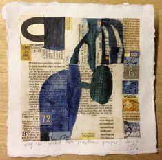 claire b cotts art: job (why do wicked men sometimes prosper? Paper Collage Art, Paper Art, Collage Collage, Collage Ideas, Grafik Art, Creation Art, Collages, Mixed Media Tutorials, Art Sculpture
