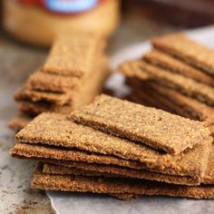 grain free graham crackers. I think i have left over ingredients to try these...  When i have time.