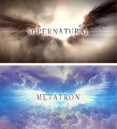 [gifset] Title cards - These were great! 9x18 Meta Fiction #SPN