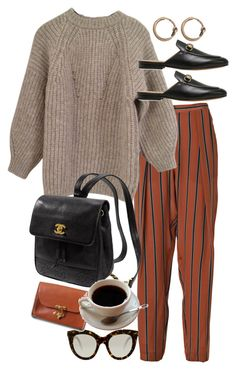 """""""Untitled #10076"""" by nikka-phillips ❤ liked on Polyvore featuring By Malene Birger, Étoile Isabel Marant, Gucci, Victoria Beckham, HarLex, Kate Spade and Acne Studios"""