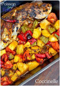 Poisson au four à la marocaine | Les saveurs du soleil