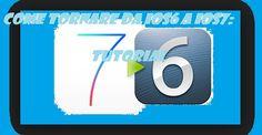 UNIVERSO NOKIA: Come tornare da iOS 7 a iOS 6: TUTORIAL