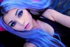 nu goth with lilac-ish hair lilac-hair Periwinkle Hair, Purple Hair, Ombre Hair, Gray Hair, Violet Hair, Black Hair, Light Blue Hair, Light Purple, Lavender Hair