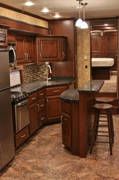 interior images of luxury travel trailer - Google Search