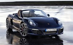 "2013 Porsche Boxter - Oh...my....Lord....  Can you say ""me"" car? :)"