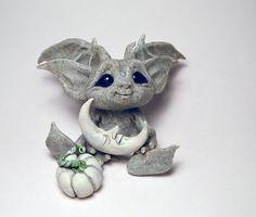 Original Goblin Troll Fairy Baby Gargoyle Art Doll Sculpture