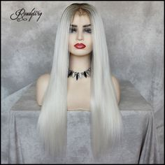 Special white grey heats you? Different color could bring a stunning vibe, show with us! #wig #lacefront